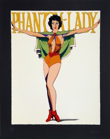 Siebdruck Ramos - Phantom Lady