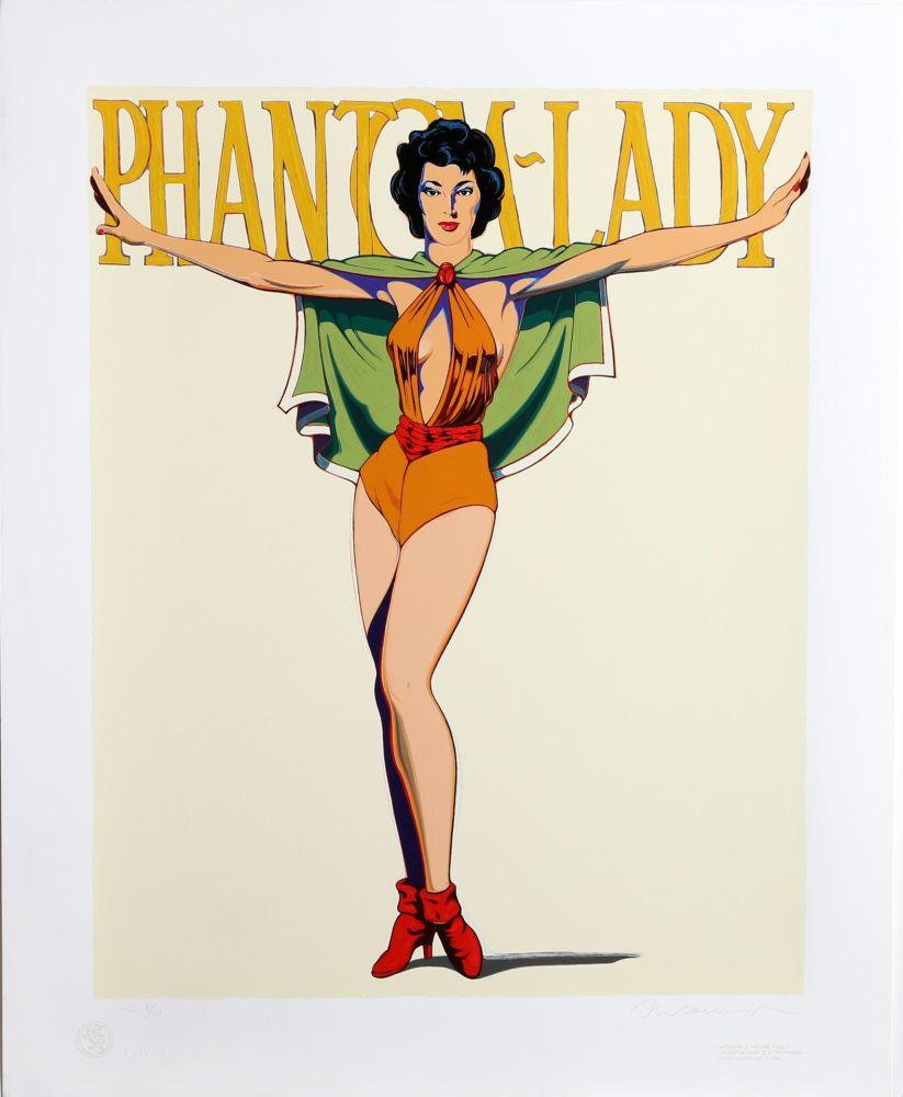 Siebdruck Ramos - Phantom Lady (White)