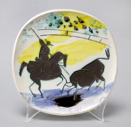 Keramik Picasso - Picador and Bull, 1953