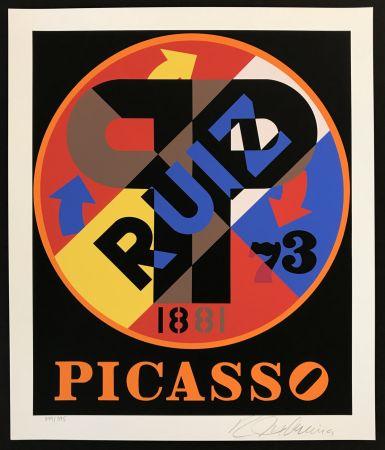 Siebdruck Indiana - Picasso