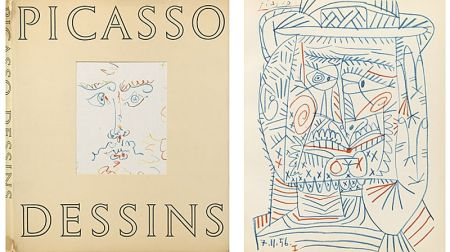 Illustriertes Buch Picasso (After) - Picasso - Dessin (1959)