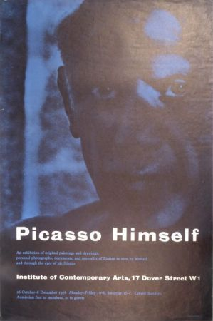 Plakat Picasso - Picasso Himself