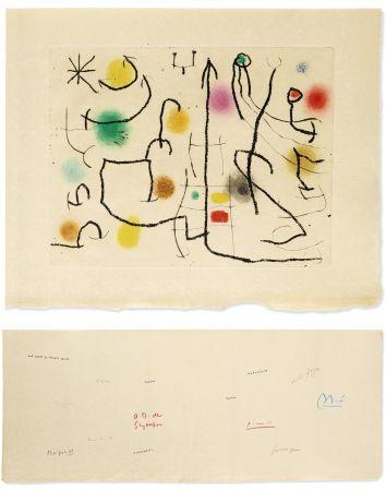 Illustriertes Buch Miró - [Picasso, Miro, Giacometti...] -  ILIAZD (Ilya Zdanévitch, dit) HOMMAGE À ROGER LACOURIÈRE.