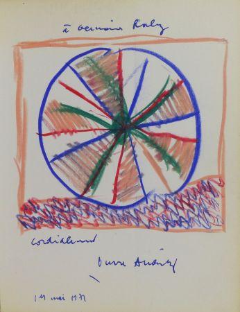 Keine Technische Alechinsky - Pierre Alechinsky (né en 1927). Dessin original signé et daté.