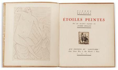 Illustriertes Buch Derain - Pierre Reverdy :  ÉTOILES PEINTES. Avec une eau-forte originale de André Derain (1921)