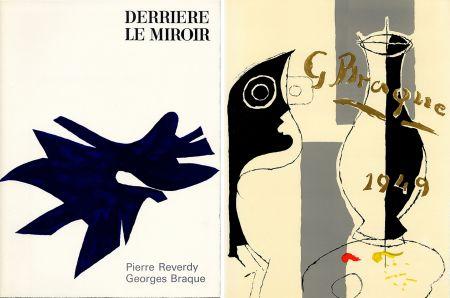 Illustriertes Buch Braque - PIERRE REVERDY, GEORGES BRAQUE. DERRIÈRE LE MIROIR n° 135-136. Déc.1962-Janv.1963.