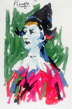 Lithographie Picasso (After) - Pierrot