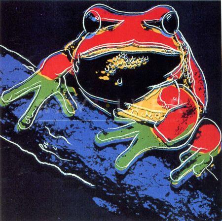 Siebdruck Warhol - Pine Barrens Tree Frog (Fs Ii.294)