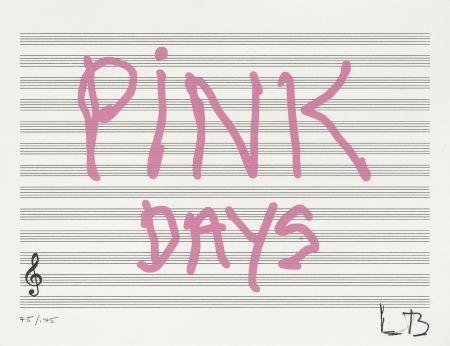 Siebdruck Bourgeois - Pink Days