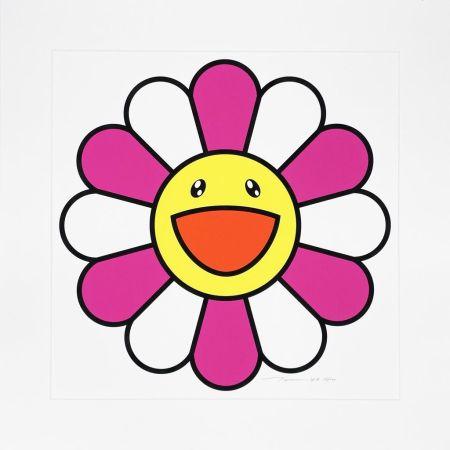 Siebdruck Murakami - Pinky chan