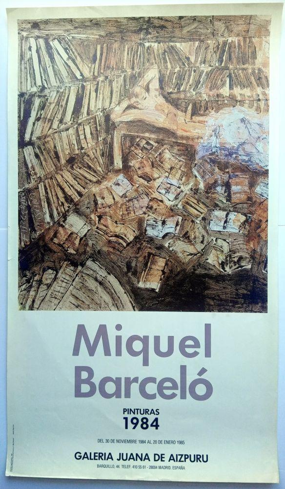 Plakat Barcelo - Pinturas 1984