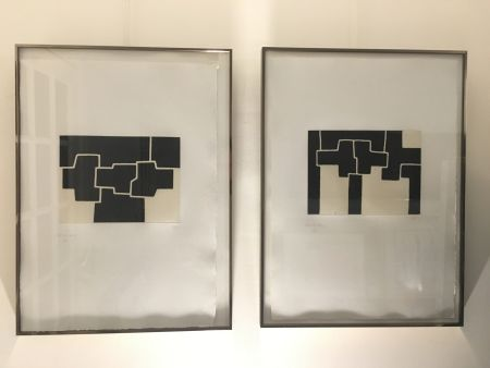 Radierung Und Aquatinta Chillida - Pittsburgh I And Ii