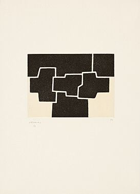 Radierung Und Aquatinta Chillida - Pittsburgh Ii
