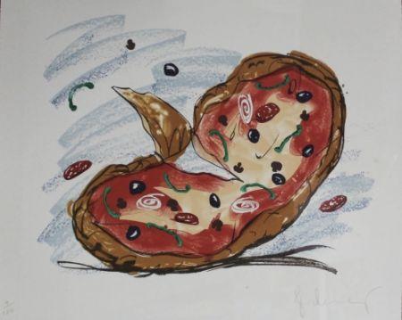 Lithographie Oldenburg - Pizza/Palette,