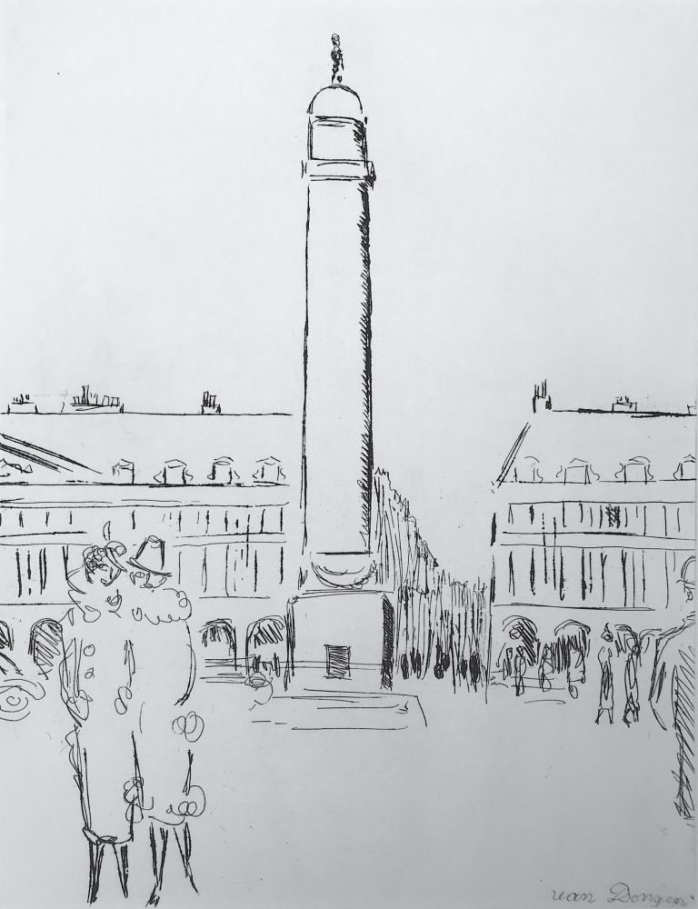 Stich Van Dongen - Place Vendome
