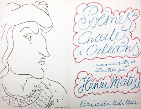 Illustriertes Buch Matisse - POÈMES DE CHARLES D'ORLÉANS, manuscrits et illustrés par Henri Matisse (Tériade 1950)