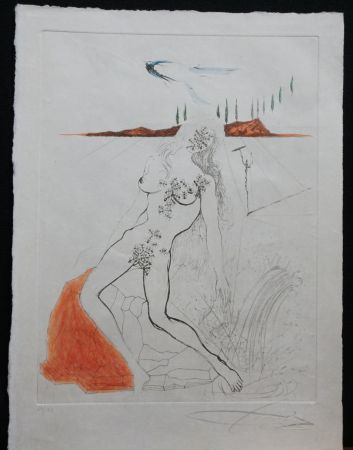 Stich Dali - Poems Secrets Nude at The Fountain