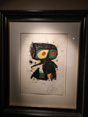 Lithographie Miró - Polygraph Xv Anos