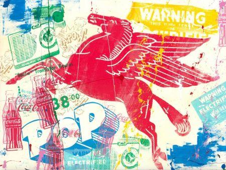Siebdruck Mr Brainwash - Pop Scene