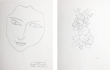 Lithographie Matisse - PORTRAIT D'ANGÈLE (1943)