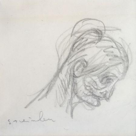 Keine Technische Steinlen - Portrait de femme