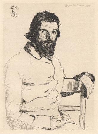 Keine Technische Bracquemond - Portrait De Meryon