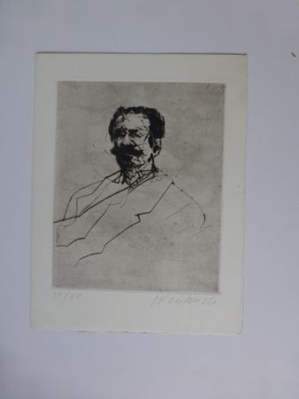 Stich Weisbuch - Portrait d'homme