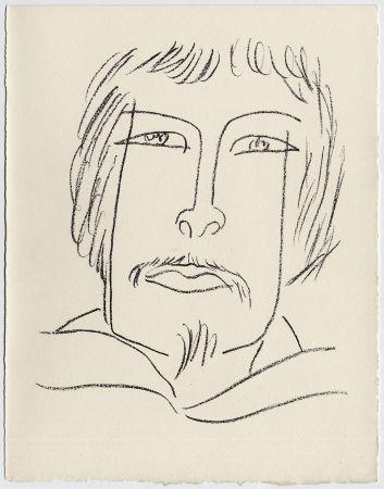 Lithographie Matisse - Portrait d'homme esquimau n° 7. 1947 (Pour Une Fête en Cimmérie)
