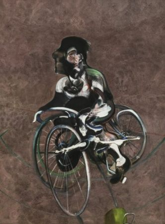Multiple Bacon - Portrait of Georges Dyer Riding a Bicycle 1966