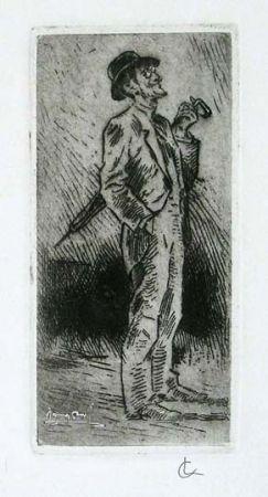 Stich Conconi - Portrait of Giuseppe Brentano