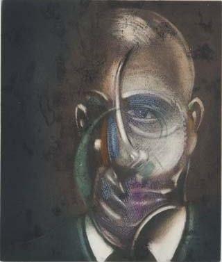 Radierung Und Aquatinta Bacon - Portrait of Michel Leiris