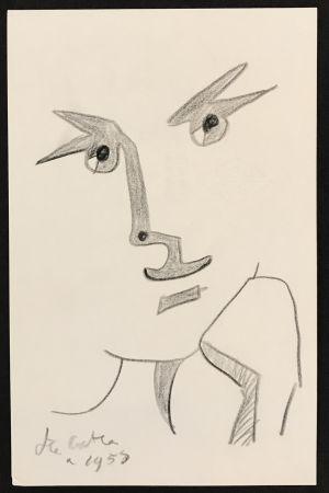 Keine Technische Cocteau - Portrait with Hand to Chin