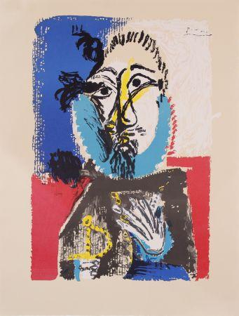 Lithographie Picasso - Portraits Imaginaires- Proof