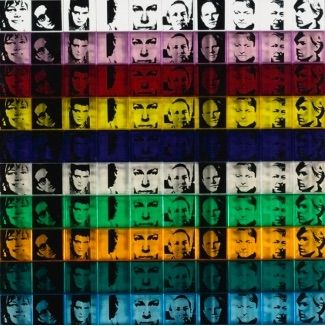 Siebdruck Warhol - Portraits of the Artists