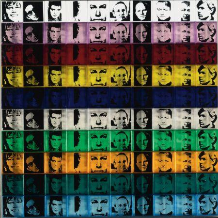 Siebdruck Warhol - Portraits of the Artists (FS II.17)