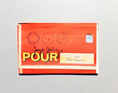 Siebdruck Beuys - POUR