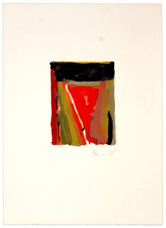 Lithographie Van Velde - Pour Jorn