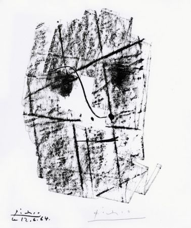Lithographie Picasso - Pour Kahnweiler