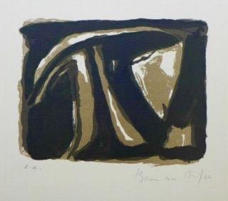 Lithographie Van Velde - Pour la Revue de Belles-Lettres