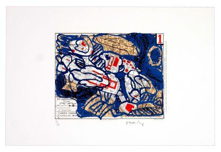 Lithographie Alechinsky - Premier arrondissement (Paris)
