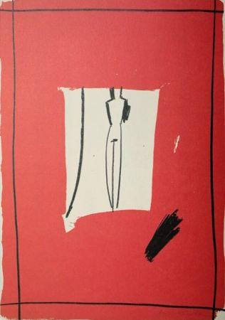 Lithographie Kuroda - Presencia