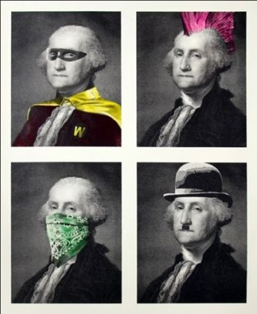 Multiple Mr Brainwash - President's Day
