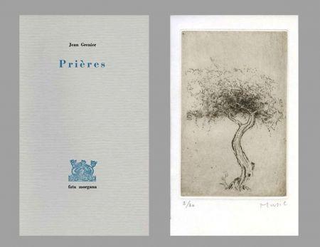 Illustriertes Buch Music - Prières