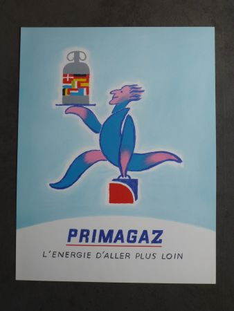 Plakat Savignac - Primagaz l'énergie d'aller plus loin
