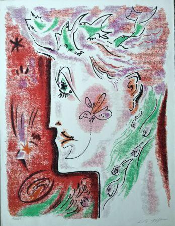 Lithographie Masson - Profil