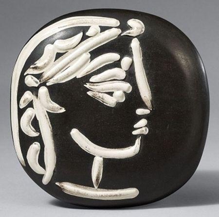 Keramik Picasso - Profil de Jacqueline (Jacqueline's Profile)