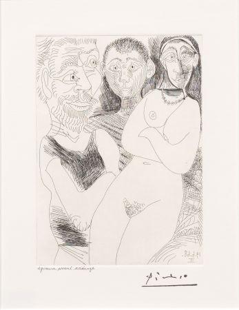 Stich Picasso - Prostitutee et Marins
