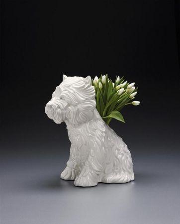 Keine Technische Koons - Puppy Vase
