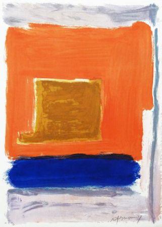 Stich Ràfols Casamada - Quadrat i taronja