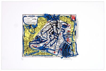Lithographie Alechinsky - Quatorzième arrondissement (Paris)